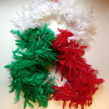 Wales Feathered Boer Scarf