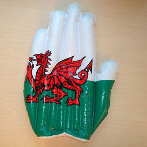Welsh Blow Up Hand