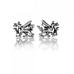 Silver/ Dragon Ear Studs