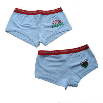 Womens Low Rise Welsh Shorts knickers