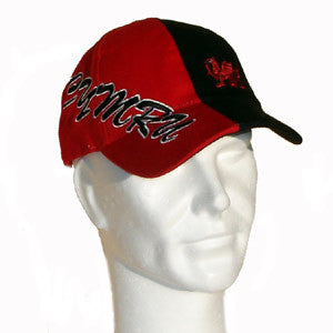 Welsh Dragon/ Black & Red Baseball Cap