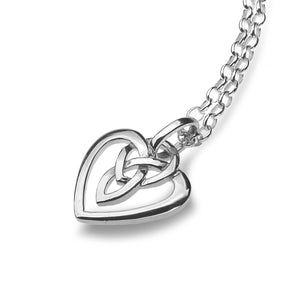 Simple Celtic Heart  - Pendant By Sea Gems® (4416)