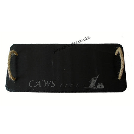 Rope & Slate Welsh Cheese Board (CAWS)