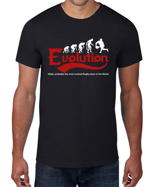 Men's Welsh rugby Evolution T Shirt