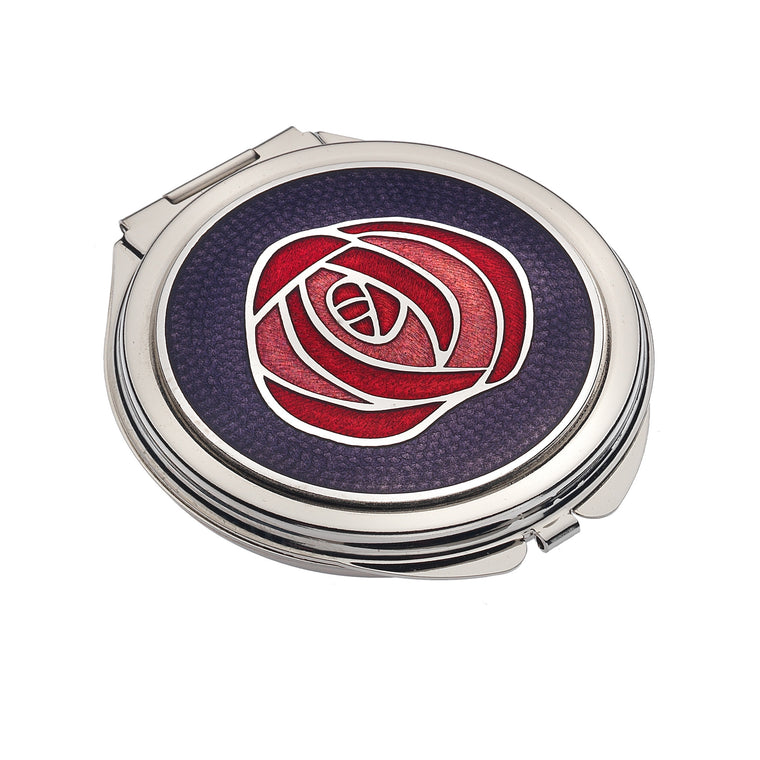 Mackintosh Central Rose Compact Mirror (7989)