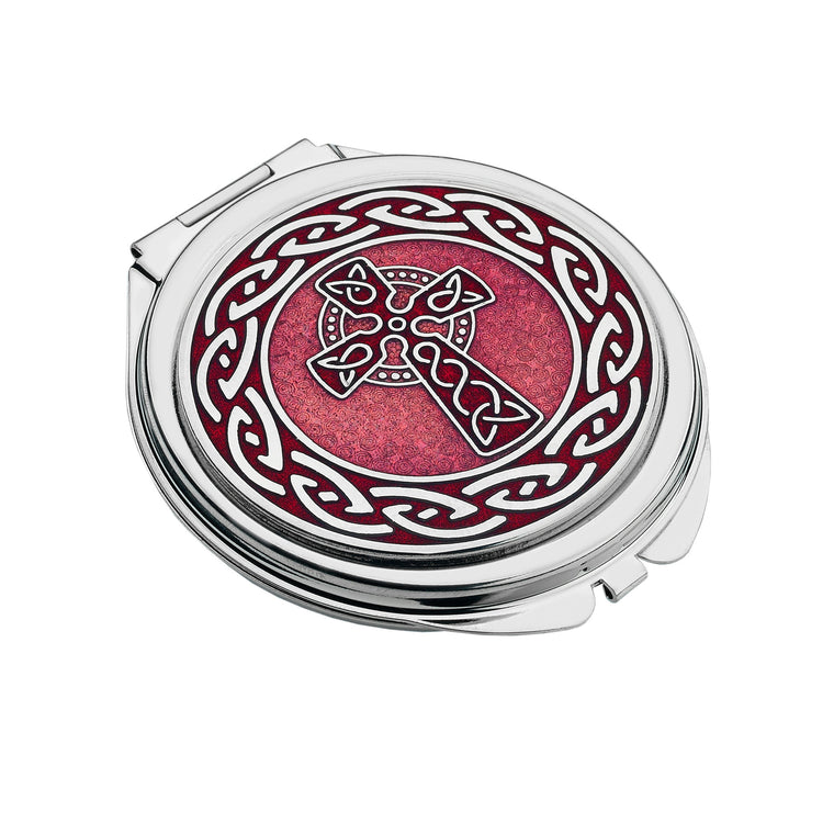 Celtic Cross & Knot Compact Mirror (8012)