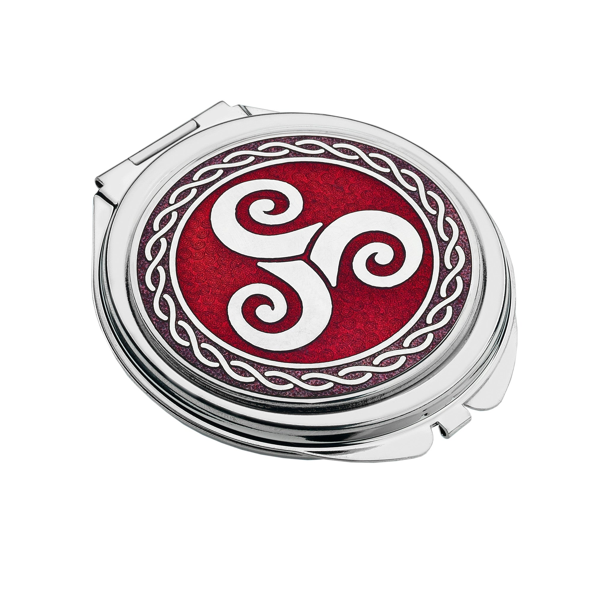 Triskele celtic knot compact mirror 8024 giftware wales triskele celtic knot compact mirror 8024 buycottarizona Images