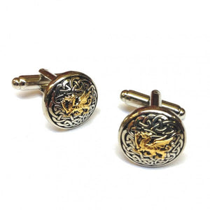 A. E. Williams Celtic Knot With Dragon Cufflinks (3877)