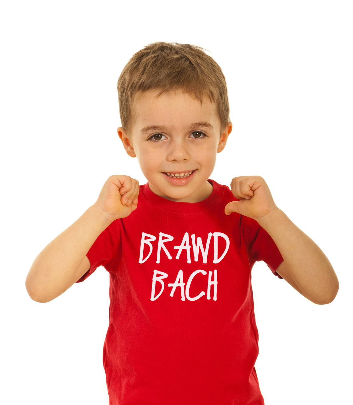 Children's Brawd Bach (Little Brother) - Welsh T-Shirt