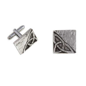 St. Justin Celtic Knot T-Bar Cufflinks - (Cc128T)