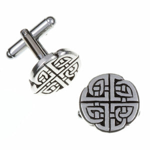 Quadrant knot T-bar cufflinks