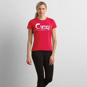 CYMRU - Best Country in the World - Women's Tee (Red)