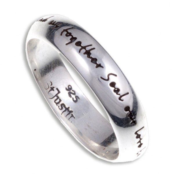 English love ring (SR946) by St. Justin
