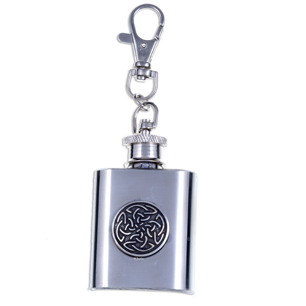 Hip flask key chain (1oz) (KF16)