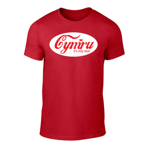 Cymru- It's Tidy Like! - Men's Welsh T-Shirt