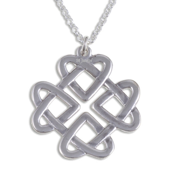 Celtic love knot pendant - ( JSP29)