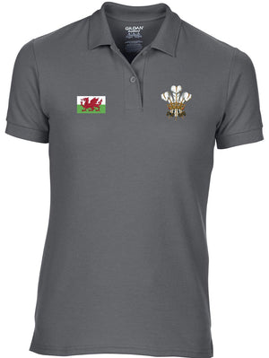 Welsh Feathers - Women's Slim Fit Polo Shirt
