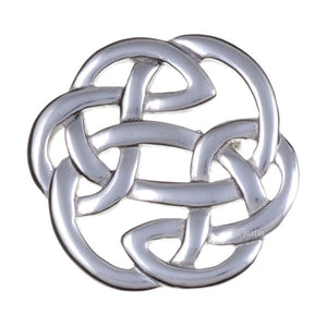 Lugh's knot brooch Medium