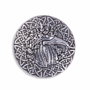 Montol Old Ned Pewter brooch  (CGPB770)