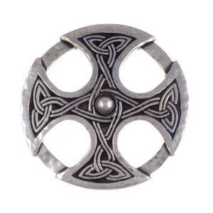 Nevern cross brooch – beaten by St. Justin