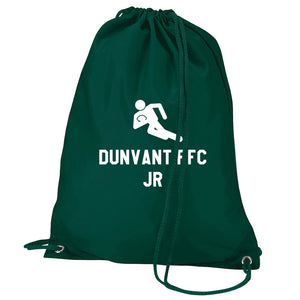 Rugby Logo- Personalised Duffel Bag - BOTTLE GREEN