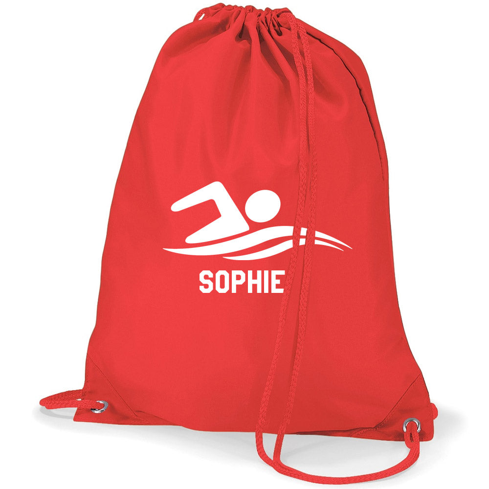 Swim Logo- Personalised Duffel Bag (Colour Choice)