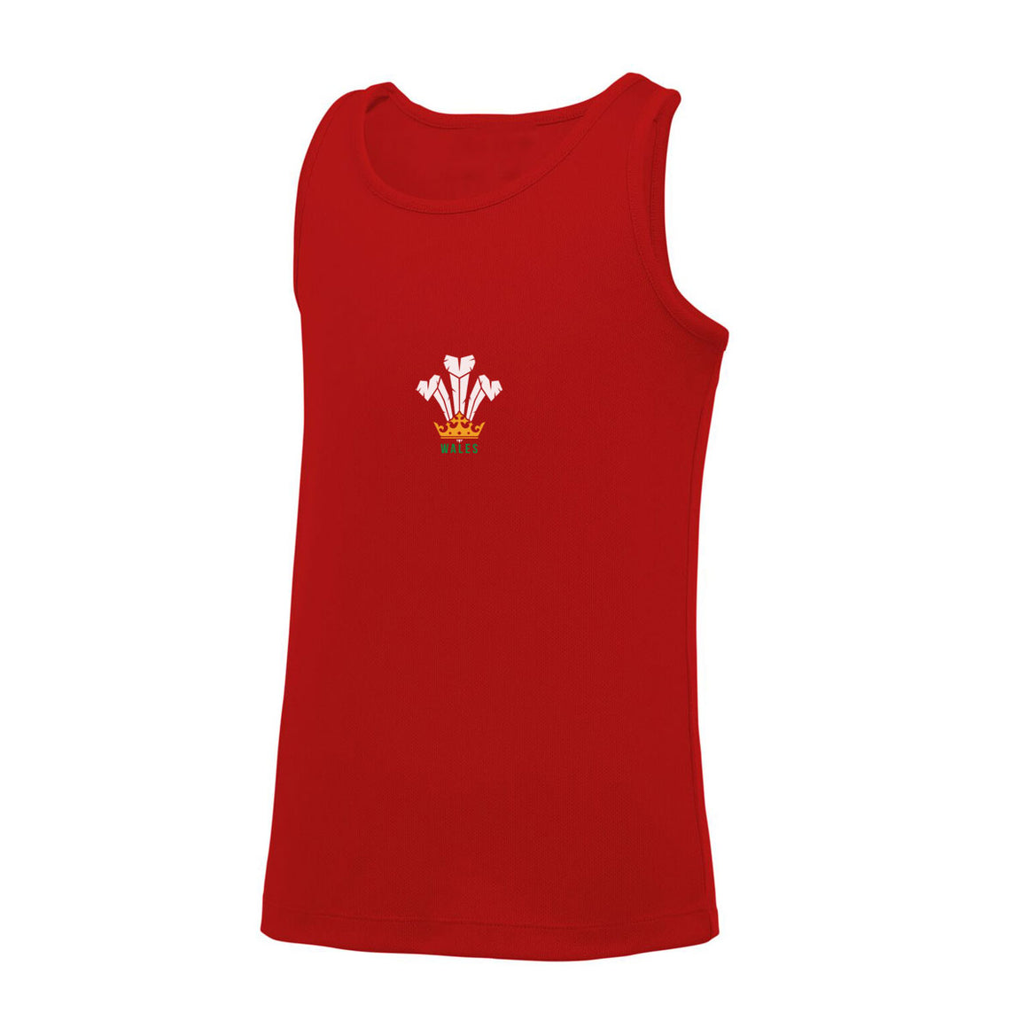 Men's Cool Dry® Gym Vest - Feathers RED