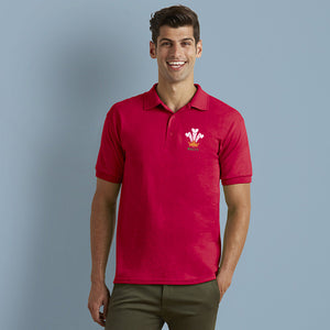 Modern Welsh Feathers - Casual Polo Shirt