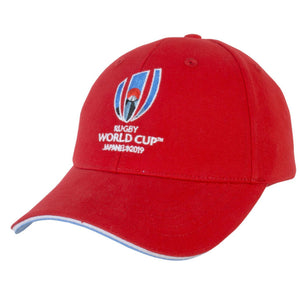 Rugby World Cup 2019 Red Logo Hat