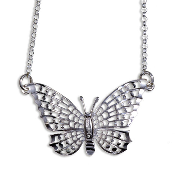 Butterfly Silver pendant by St Justin