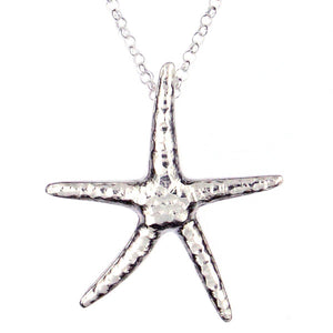 Starfish Silver pendant by St Justin