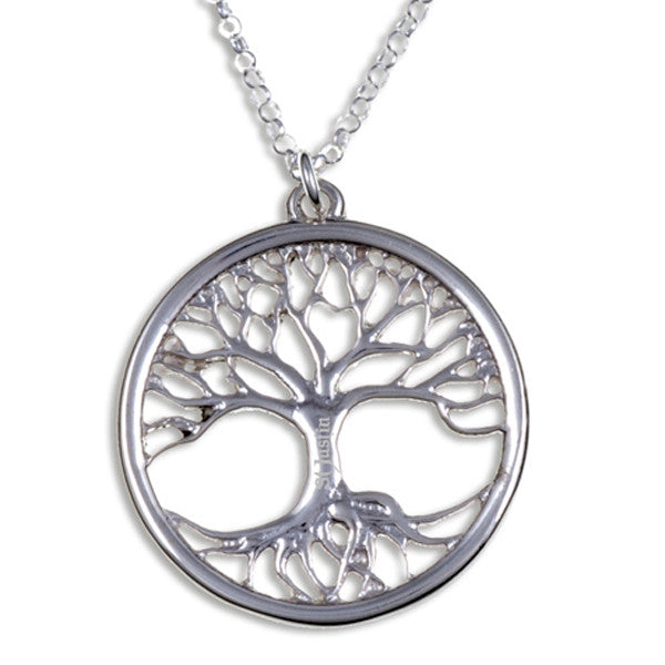 Tree of life silver pendant by St Justin