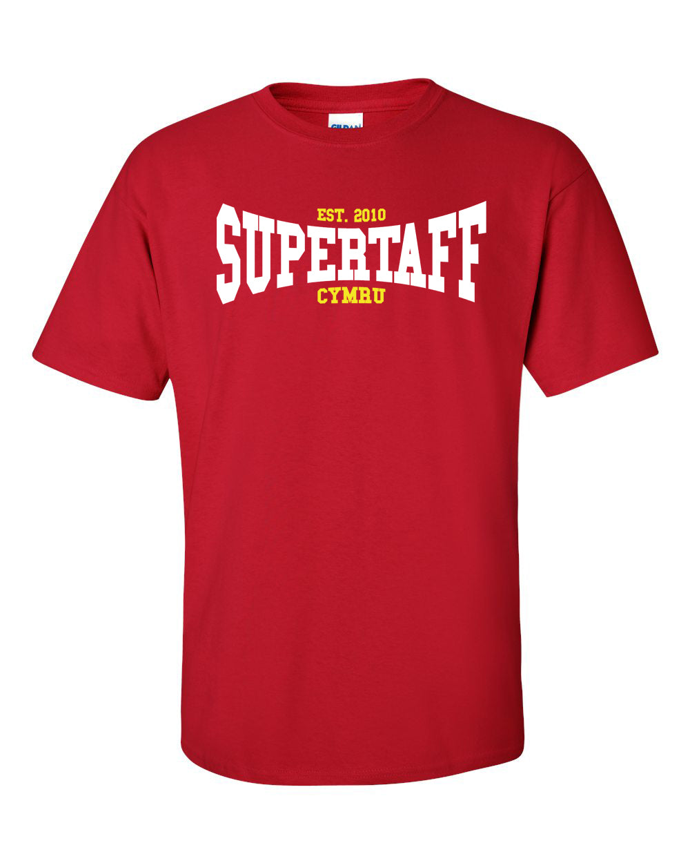 Supertaff© Retro - Welsh T Shirt (RB)