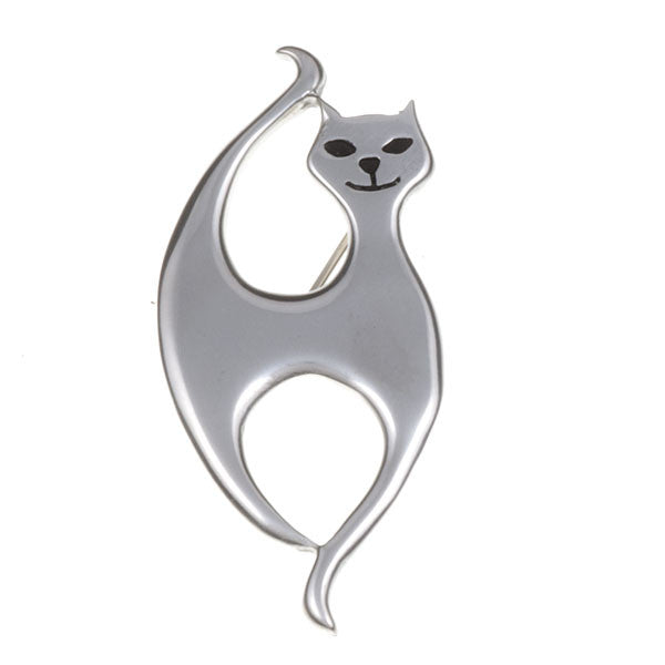 Slim cat brooch by St. Justin (PB599)