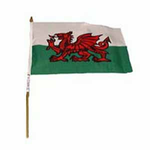 Welsh Hand Flag