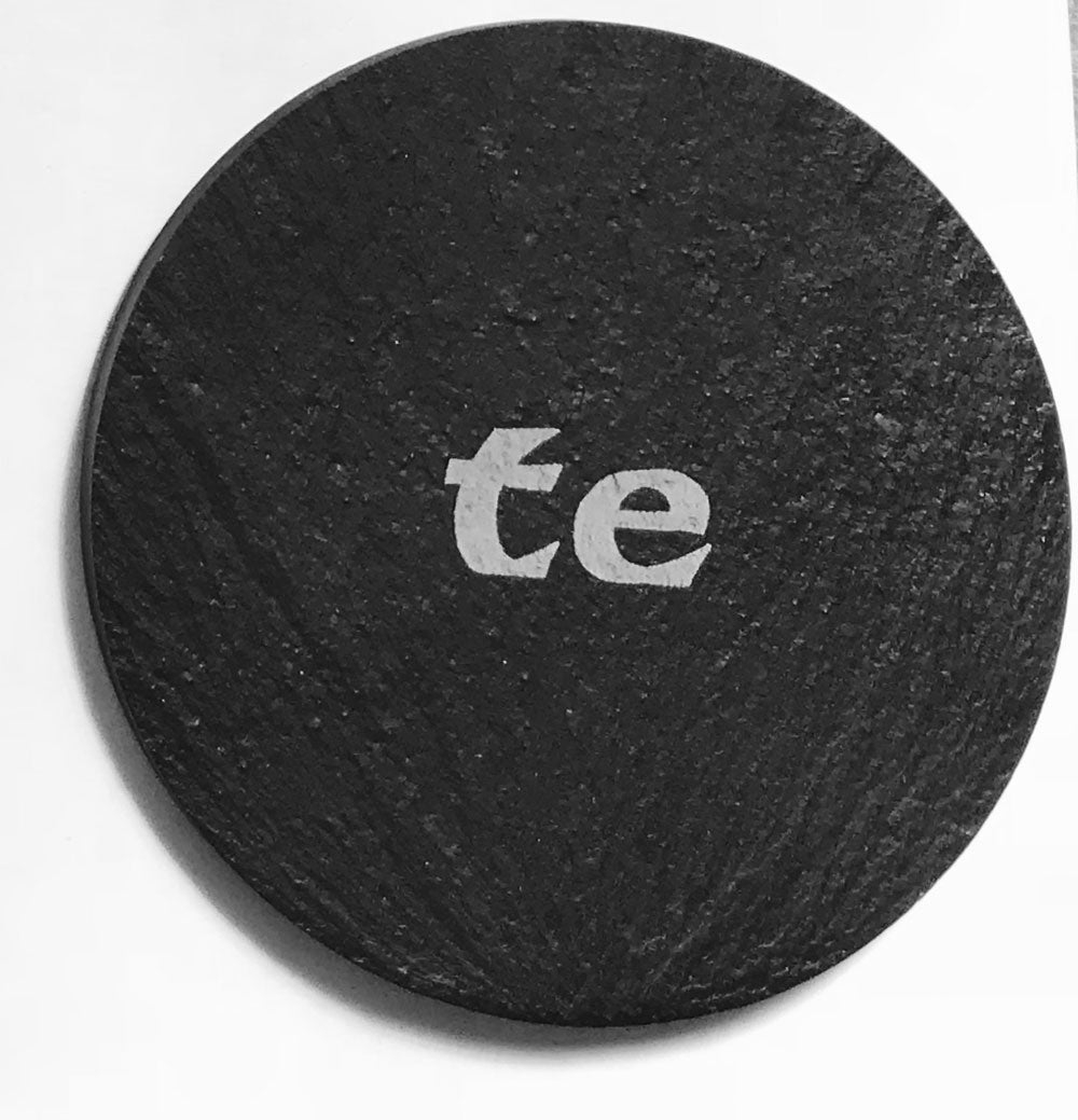 Welsh Slate Coaster - (Te-Tea)