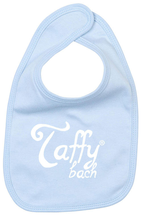 Taffy Bach - Baby Bib (Powder Blue)
