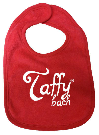 Taffy Bach - Baby Bib (Red)