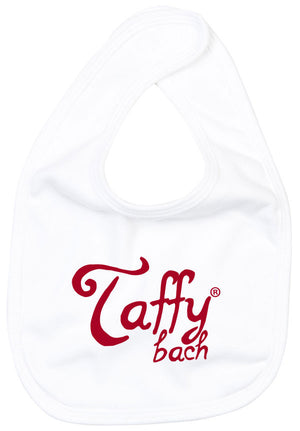 Taffy Bach - Baby Bib (White)