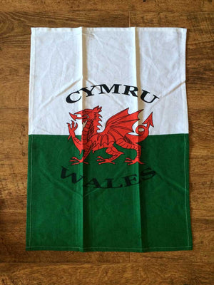 Welsh Flag T-Towel