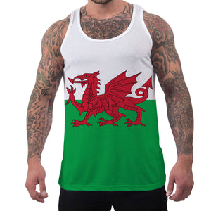Welsh Flag Vest - UNISEX