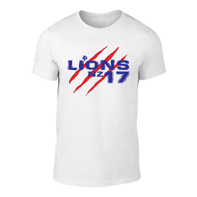 LIONS 2017 SCAR Rugby Logo Tee - WHITE