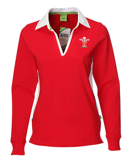 WRU Womens Rugby Shirt - Long Sleeve