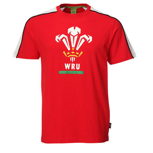 WRU T-Shirt - Children's Printed feathers
