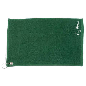 Luxury Range Welsh Golf Towel