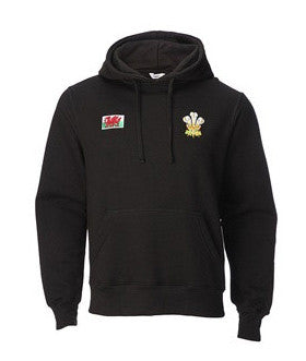 Men's Welsh Hoodie Jacket - Shak - Black