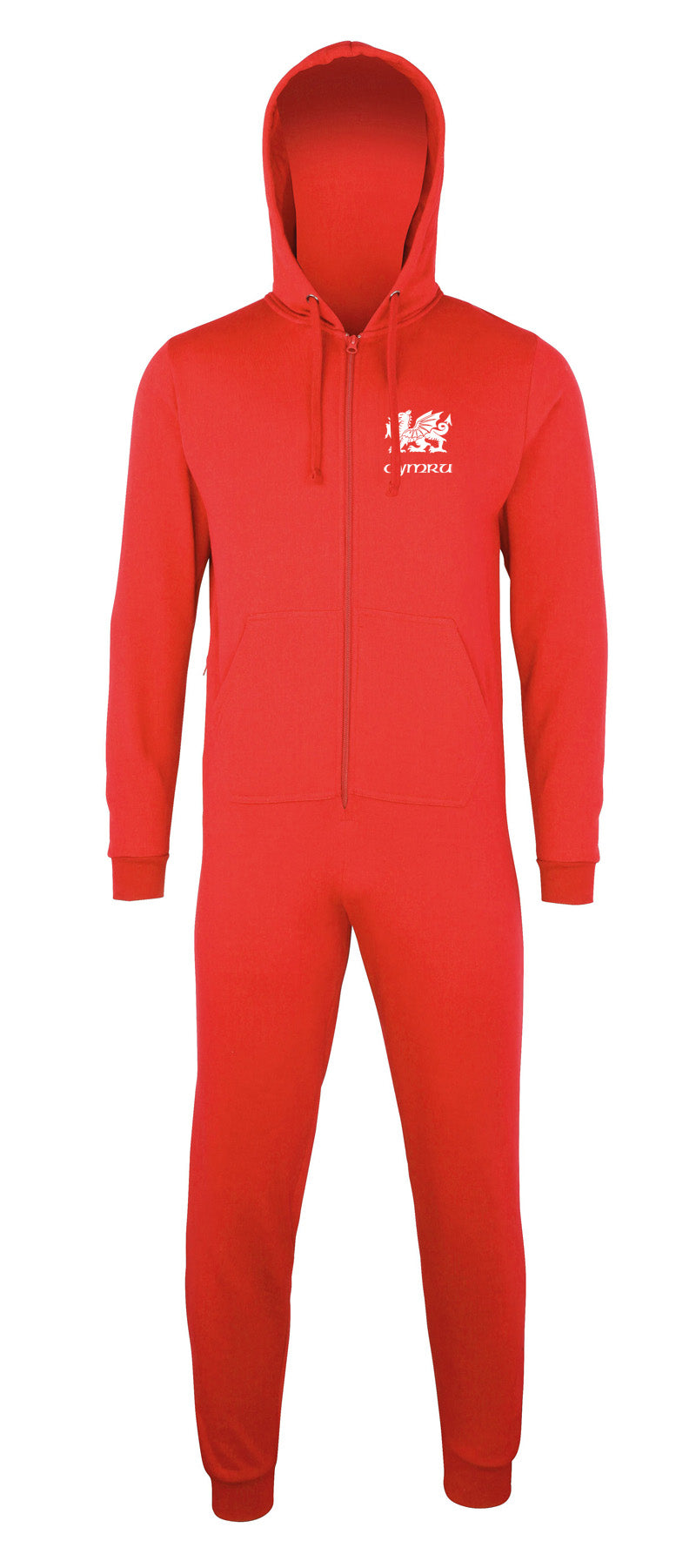 Welsh Dragon - Onesie/ Hoodie - RED