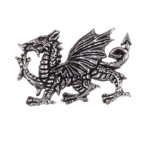 Welsh dragon Pewter brooch (PB123)