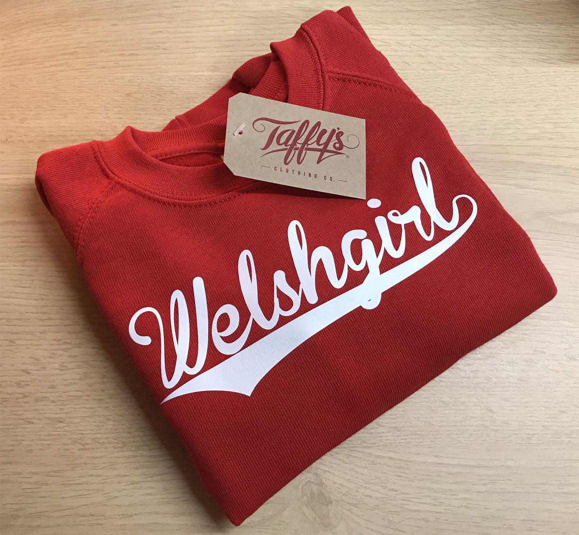 Welsh Girl - Kids College Sweatshirt