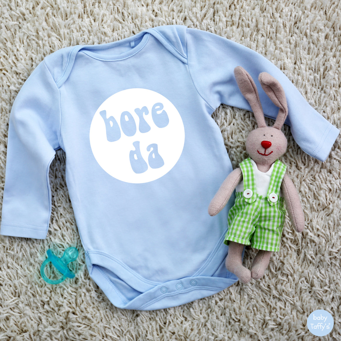 Bore Da - L/S Welsh Baby Grow